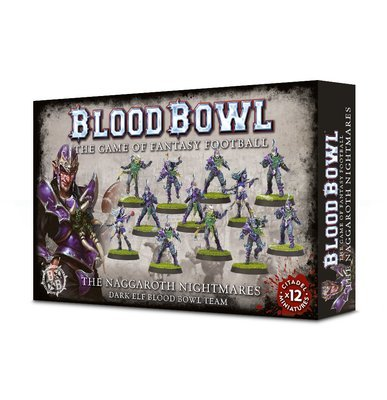 The Naggaroth Nightmares Dunkelelfen - Blood Bowl - Games Workshop