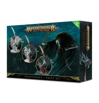 Set aus Nighthaunt + Farben Paint Set  - Warhammer Age of Sigmar - Games Workshop