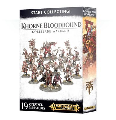 Start Collecting! Khorne Bloodbound Goreblade Warband - Warhammer Age of Sigmar - Games Workshop