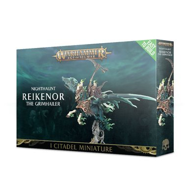 Easy to Build: Reikenor the Grimhailer - Nighthaunt - Warhammer Age of Sigmar - Games Workshop