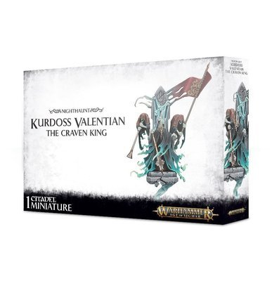 Kurdoss Valentian, The Craven King - Nighthaunt - Warhammer Age of Sigmar - Games Workshop