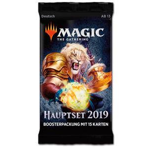 MTG - Hauptset 2019 - Booster (D) - Magic