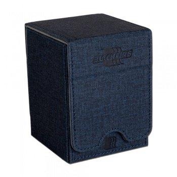Convertible Premium Deck Box Single Vertical 100+ Standard Size Cards - Blue