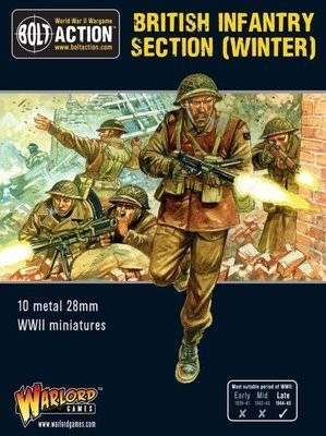 British Infantry section (Winter) - British - Bolt Action