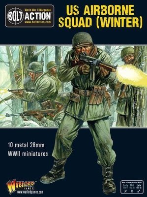 US Airborne Squad (Winter) - American US - Bolt Action