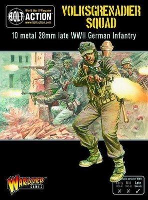 Volksgrenadiers - German - Bolt Action