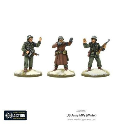 US Army MPs (Winter) - American - Bolt Action - Warlord Games