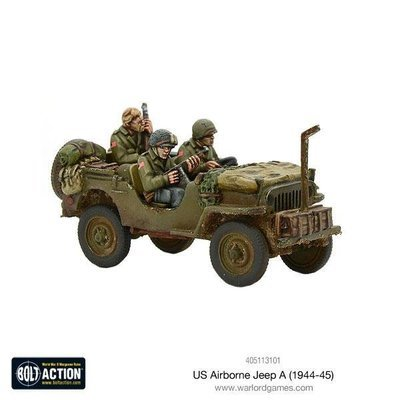 US Airborne Jeep (1944-45) - Bolt Action - Warlord Games
