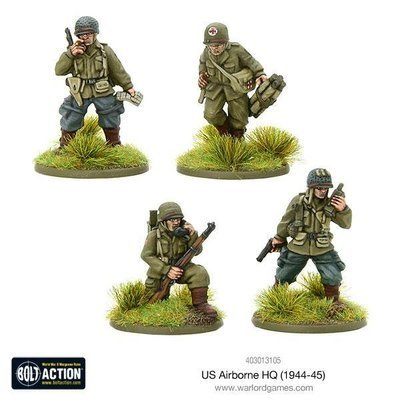 US Airborne HQ (1944-45) - Bolt Action - Warlord Games