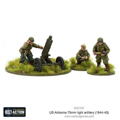 US Airborne 75mm light artillery (1944-45) - Bolt Action - Warlord Games