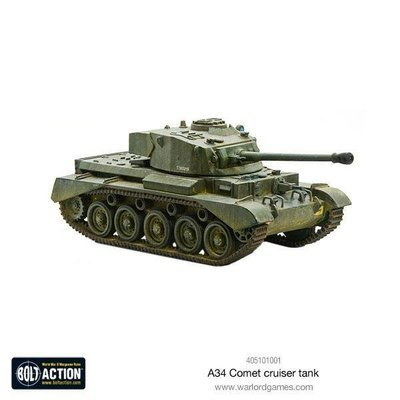A34 Comet heavy tank - Bolt Action - Warlord Games