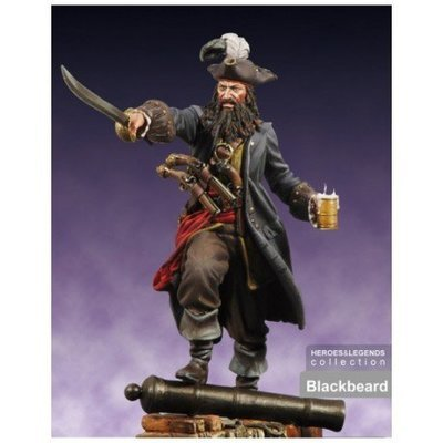 Blackbeard - 75mm - Scale75