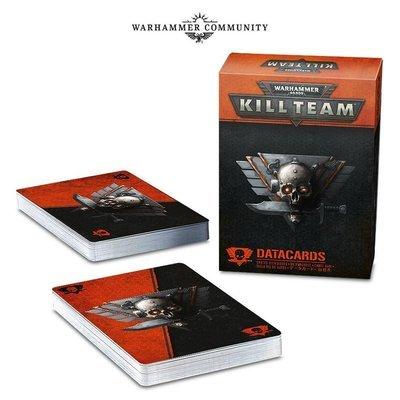DATENKARTEN: KILL TEAM (DEUTSCH) - Warhammer 40K - Games Workshop