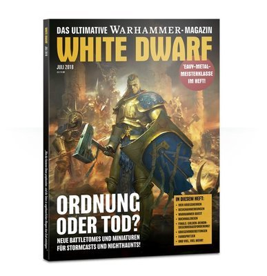 White Dwarf Juli 2018 (Deutsch) - Games Workshop