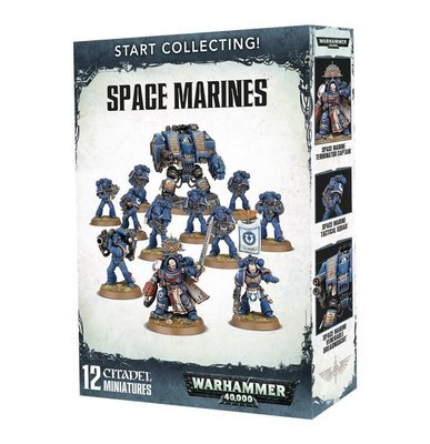 MO: Start Collecting! Space Marines - Warhammer 40.000 - Games Workshop