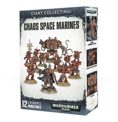 Start Collecting! Chaos Space Marines - Warhammer 40.000 - Games Workshop
