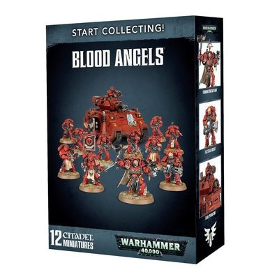 Start Collecting! Blood Angels - Warhammer 40.000 - Games Workshop