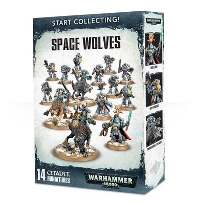 Start Collecting! Space Wolves - Warhammer 40.000 - Games Workshop