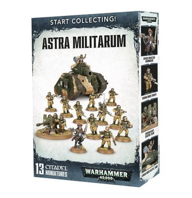 Start Collecting! Astra Militarum - Warhammer 40.000 - Games Workshop