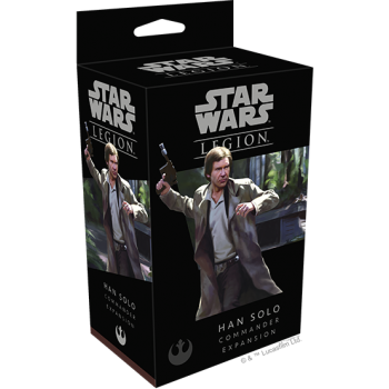 Star Wars Legion - Han Solo Commander Expansion - English - Fantasy Flight Games