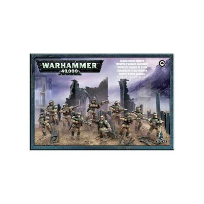 Cadian Shock Troops Cadian Infantry Squad Astra Militarum - Warhammer 40.000 - Games Workshop