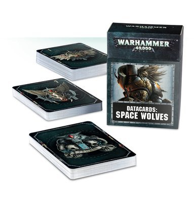 DATACARDS: SPACE WOLVES (ENGLISH) - Warhammer 40.000 - Games Workshop