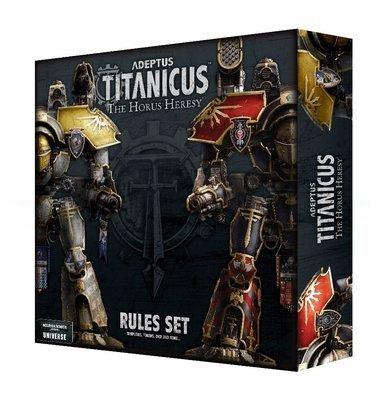 Adeptus Titanicus: The Horus Heresy Rules Set (Englisch) - Warhammer 40.000 - Games Workshop