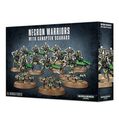 Necron Warriors with Canoptek Scarabs - Warhammer 40.000 - Games Workshop