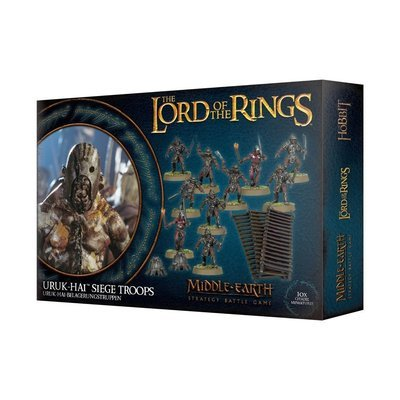 MO: LOTR: URUK-HAI-BELAGERUNGSTRUPPEN - Lord of the Rings - Games Workshop