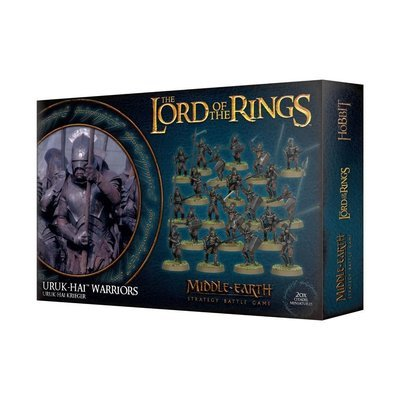LOTR: URUK-HAI KRIEGER - Lord of the Rings - Games Workshop