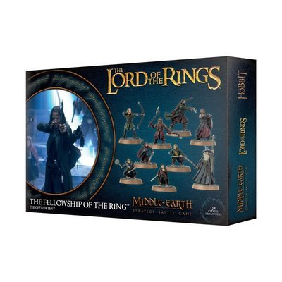 THE LORD OF THE RINGS: DIE GEFÄHRTEN Fellowship of the Ring - Lord of the Rings - Games Workshop