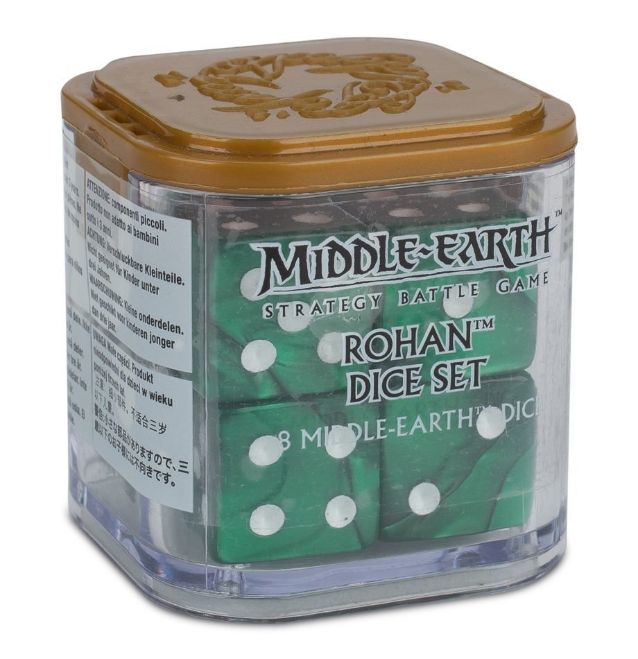 ROHAN DICE SET Würfel - Lord of the Rings - Games Workshop