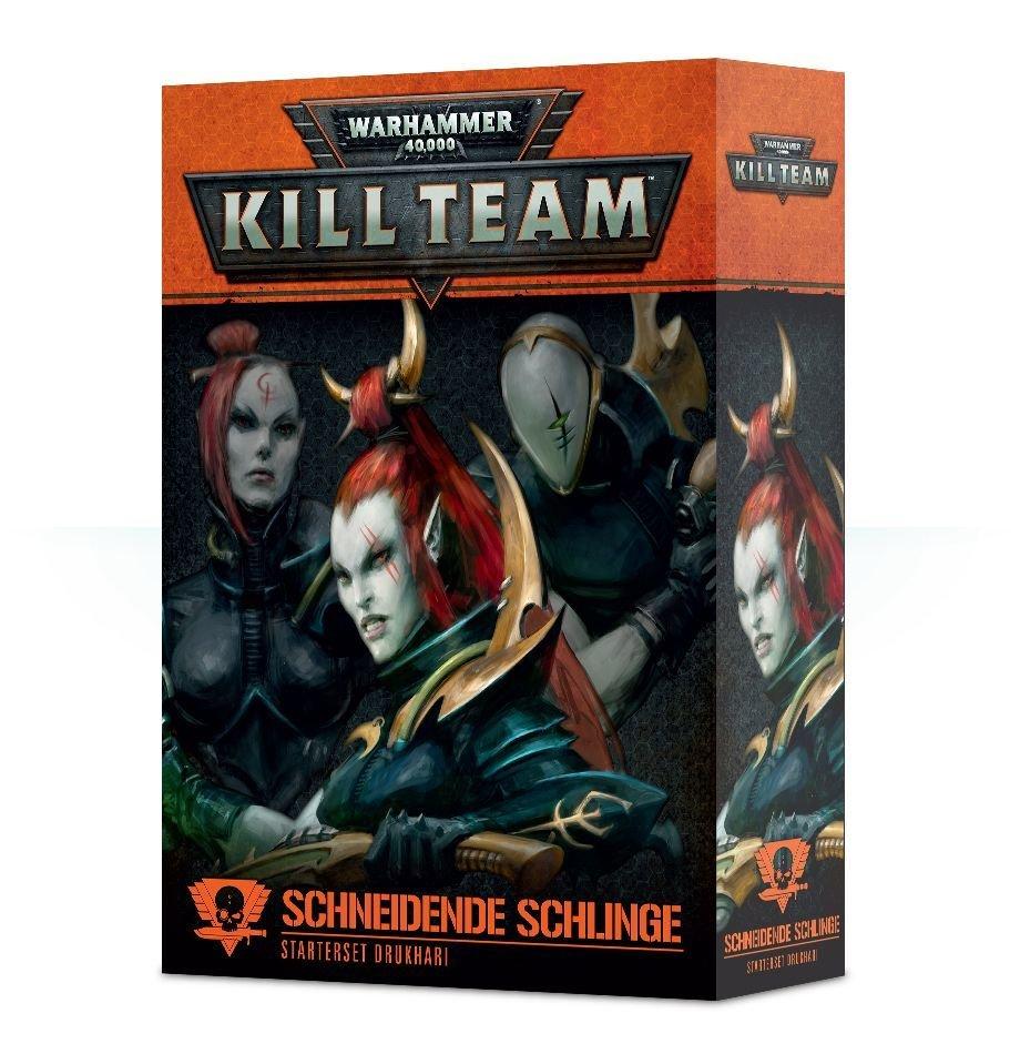 Drukhari-Starterset für Kill Team: Die Schneidende Schlinge Deutsch - Warhammer 40K - Games Workshop