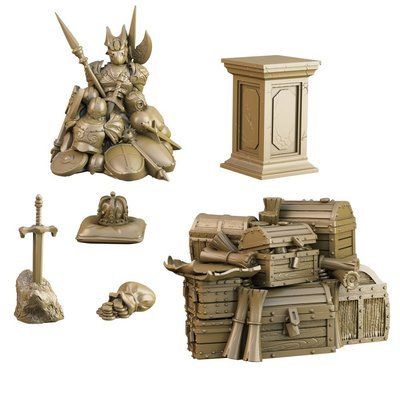 King's Coffers - Terrain Crate - Mantic Games