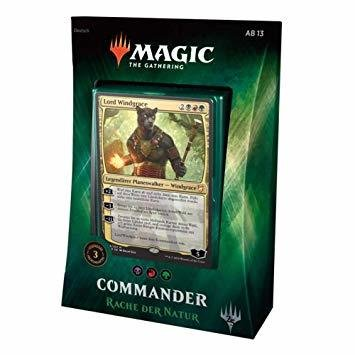 MTG - Commander 2018 Deck Rache der Natur - Deutsch - Magic
