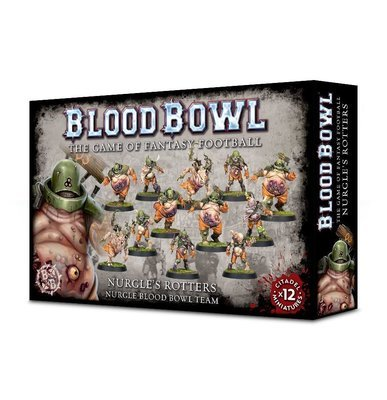 BLOOD BOWL: NURGLE'S ROTTERS TEAM - Blood Bowl - Games Workshop