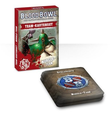 BLOOD BOWL: NURGLE TEAM CARDS (ENGLISH) - Blood Bowl - Games Workshop