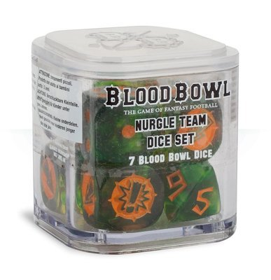 NURGLE'S ROTTERS BLOOD BOWL DICE Würfel - Blood Bowl - Games Workshop