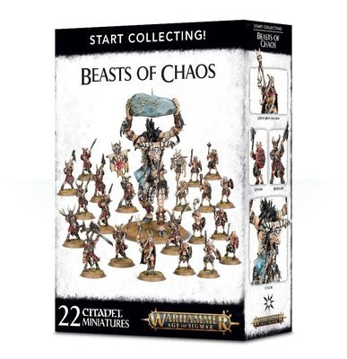 START COLLECTING! BEASTS OF CHAOS - Warhammer Age of Sigmar- Games Workshop