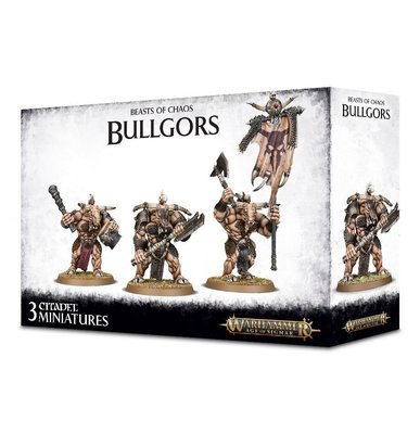 MO: WARHERDS BULLGORS - Beasts of Chaos - Warhammer Age of Sigmar- Games Workshop