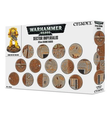 Sector Imperialis 32mm Round Bases - Games Workshop