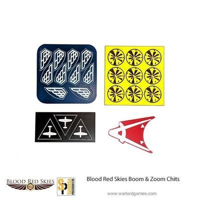 Boom and Zoom Chits - Blood Red Skies - Warlord Games