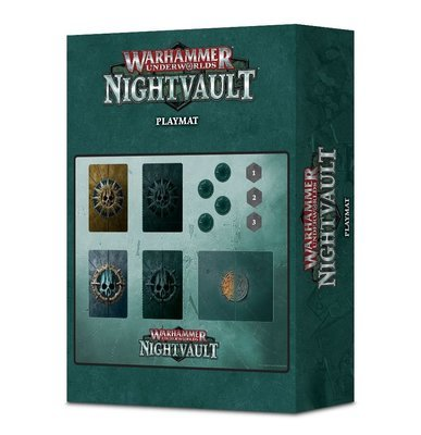 Warhammer Underworlds: Nightvault – Kartenmatte Playmat - Games Workshop