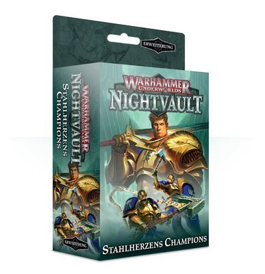 Warhammer Underworlds: Nightvault – Stahlherzens Champions - Games Workshop