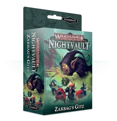 Warhammer Underworlds: Nightvault – Zarbags Gitz Deutsch - Games Workshop