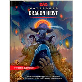 D&D Dungeons&Dragons - Waterdeep Dragon Heist Book - EN