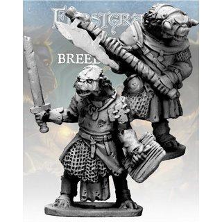 Gnoll Knight & Templar (2) - Frostgrave - Northstar Figures