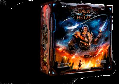 Lords of Hellas - Grundspiel • DEUTSCH