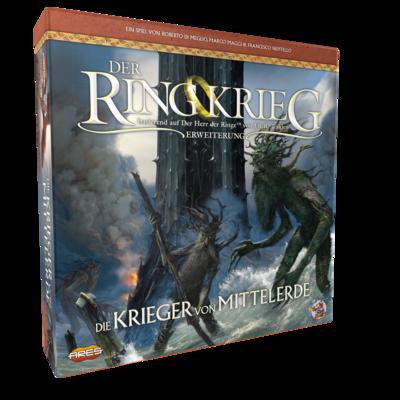Der Ringkrieg 2. Edition: • Die Krieger von Mittelerde - Erweiterung - Asmodee