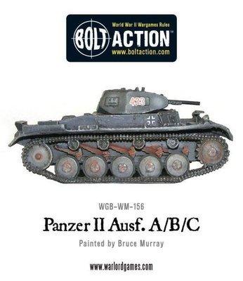 Panzer II Ausf. A/B/C - German - Bolt Action